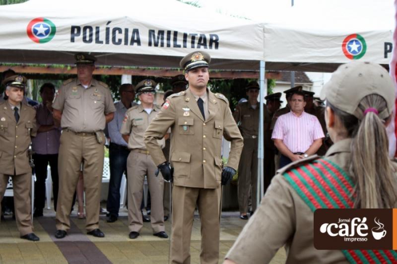 Troca de comando da Polícia Militar - Timbó