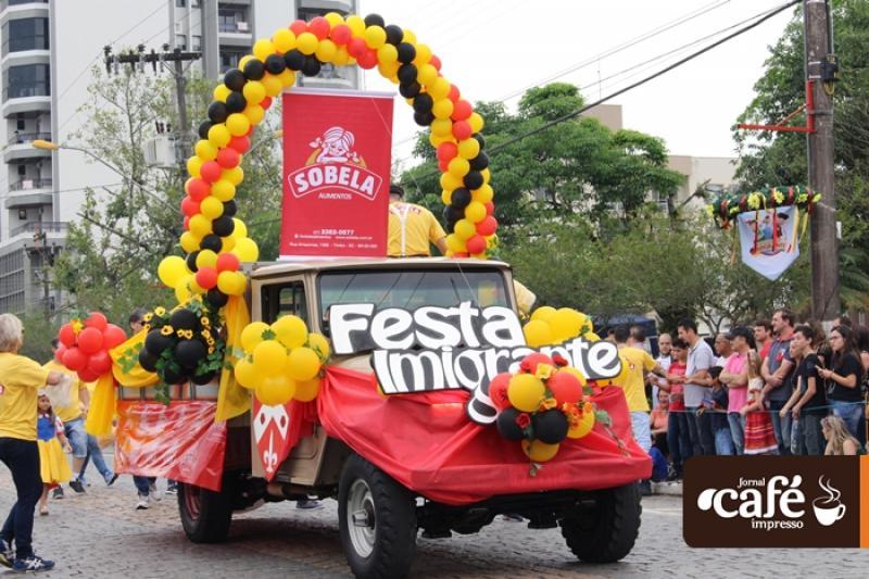 Desfile Festa do Imigrante 2017 - Timbó