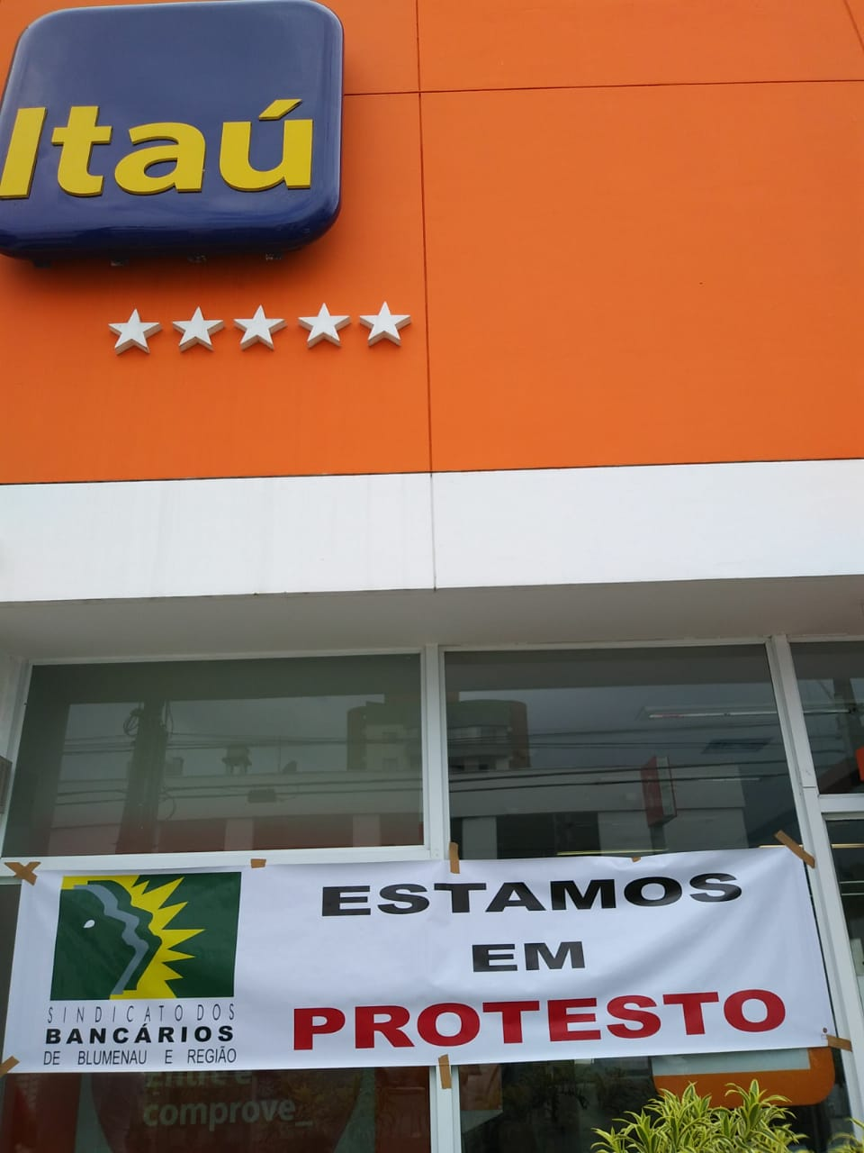 Foto: Sindicato dos Bancários de Blumenau e Região
